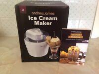 Andrew James Ice Cream Maker - New
