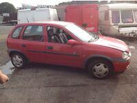 X reg Vauxhall corsa parts only