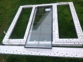 Double glazed window, 1.5 X11.35m, trickle vent, BRAND NEW