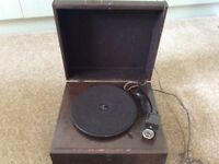 Vintage 1930's record player