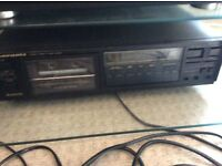 Marantz Tape deck and nad tuner and speakers . No offers