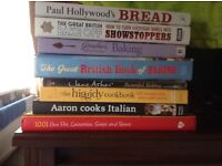 8 Cookery Books Excellent Condition