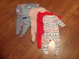 Bundle of baby girl clothes size 6-9