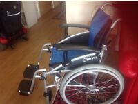 Wheelchair for sale .