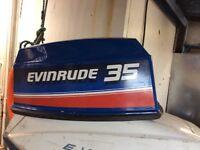 Evinrude 35 hood