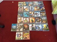 Here I have my 27 PS3 games and 1 PSp good condition