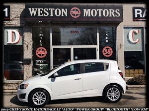 2012 Chevrolet Sonic LT *AUTO *POWER GROUP *SPORT WHEELS *BT *LO