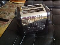 Black Dualit Toaster