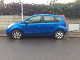 Nissan Note, 2008' patrol, manual blue MPV 1.4