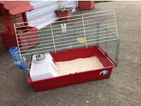 Indoor cage , rabbit , Guinea pig , with extras , possible free delivery