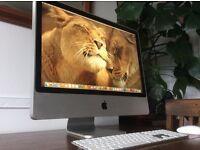 "24"" iMac 2.8GHz /4 Gig Ram/ 1 Terabyte Hard Drive /Condition Like New"