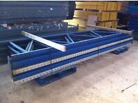 APEX INDUSTRIAL COMMERCIAL WAREHOUSE PALLET RACKING END FRAME UPRIGHT LEG