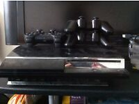 PS3 w/ x7 games + x3 controllers, Bristol