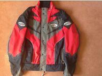 RST Textile motorbike Jacket size Large