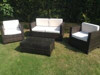 Rattan garden patio or conservatory furniture £200 tel 07966921804