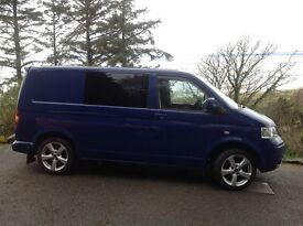VW T5 Campervan ,late 2009, factory blue, SWB, very low mileage, professional conversion, must see!