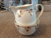 Royal Grafton Bone China Milk Jug and Matching Sugar Bowl.