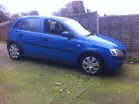 63k CORSA 1.2 ELEGANCE 2 OWNERS SERVICE HISTORY TO 57k GREAT EXAMPLE £850