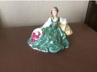 Royal Doulton figure Elyse . Pick up only