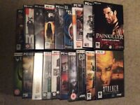 Collection of 19 PC games