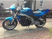 TRIUMPH SPEED TRIPLE 955i 2002 52plate. may swap/ part ex.