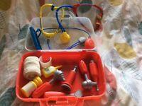 Children's toy medical kit