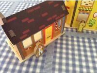 Three balamory houses