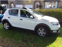 Dacia Sandero Stepway 2014 (64) 0.9 Tce Ambiance 5 door. Excellent condition with FSH. One owner.