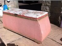 Beautiful retro ottoman/blanket box, great shape