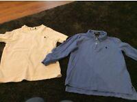 Boys Ralph Lauren polo shirt & tshirt