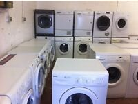 WASHING MACHINES FROM £80.00 WITH WARRANTY ,HOTPOINT , INDESIT, BEKO ETC
