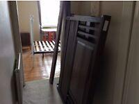 20's solid wood bed (needs DIY skills)