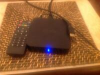 MXQ Kodi box and remote control