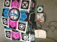 Playstation Dance Game and 2x Mats