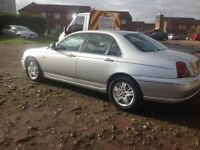 ROVER 75 NEW MOT DIESEL AUTOMATIC RE LISTED DUE TO TIMEWASTERS LOST LOG BOOK BARGAIN AT ONLY £595