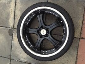 ZITO 568 Black alloy wheels