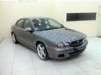 JAGUAR X-TYPE 2.0 D SE-SAT NAV-RED LEATHER-12 MONTH MOT-TOP SPEC-£0 DEPOSIT LOW RATE FINANCE