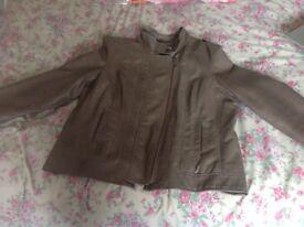 M&S indigo jacket size 16 (14)