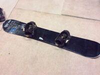 Head snowboard with drake bindings