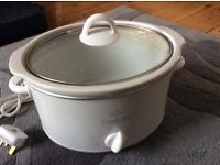 Rival crock-pot stoneware slow cooker
