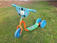 Childs Thomas the tank engine scooter.