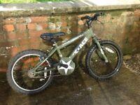"Boys 18"" wheel mountain bike"