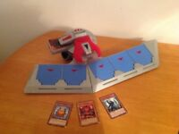 Yu-Gi-Oh card player vintage toy