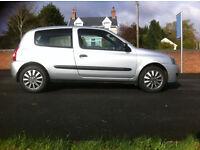 2008 Renault Clio Campus, 1.2L, FULL MOT APRIL 2018, £1195...