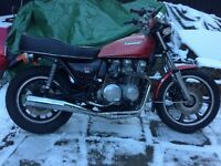 KAWASAKI SR650 1978 like Z650 STORED FOR MANY YEARS GOOD RUNNER