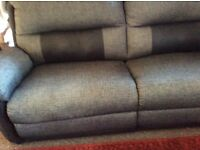 Three seater electric recliner