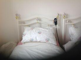 2 single adjustamatic beds