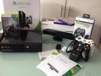XBox 360 250GB/Go Console/Kinect Sensor/2Controllers/Twin Docking Station/3 Games