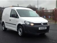 2015 VOLKSWAGEN CADDY 1.6 TDI STARTLINE. LOTS OF EXTRAS FITTED. PLY LINED ETC. LOW MILEAGE. 1 OWNER.