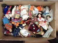 Porcelain Dolls Of The World collectible JOB LOT